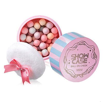 VOV Ball On Cheek 2 Color 12g / Makeup / Blusher Korean Cosmetics