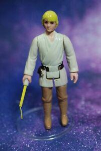 VINTAGE-Star-Wars-COMPLETE-Luke-Skywalker-FARMBOY-ACTION-FIGURE-KENNER-farm-boy