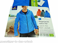 TCM Tchibo Herren Regenjacke Regen Jacke blau winddicht wasserdicht atmungsaktiv