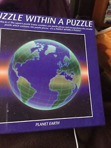 100% De Qualité Puzzle Dans Un Puzzle Planet Earth 400 Pieces-afficher Le Titre D'origine