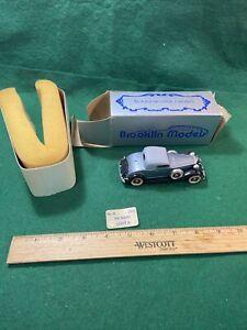 Brooklin  Models 1932 Packard Light 8 Coupe 1/43 #6 no Box Rare (KJT72)