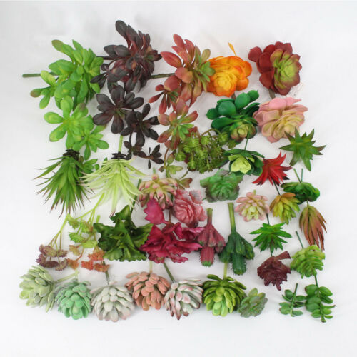 Simulation Artificial Succulent Fake Plants Plastic Flowers Home Floral Decor