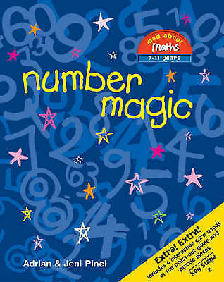 1 of 1 - Number Magic (Mad About Maths), Good Condition Book, Jeni Pinel, Adrian Pinel, I
