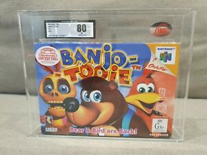 Brand-New-Banjo-Tooie-UKG-Graded-N64-Nintendo-64-Extremely-Rare