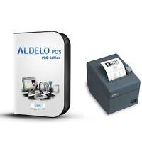 Aldelo Pro Version 2013 Pos Software 3rd Station & Above W/ Free Epson Printer