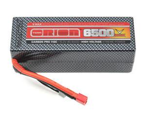 Coque Rigide Lipo Deans Orion Carbon Batteria 4s 15.2v 6600mah 110c - 14077