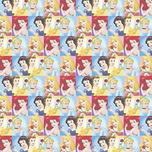"CINDERELLA Fabric Cotton Large Panel  Craft Quilting Disney PRINCESS 36/"" x 44/"""