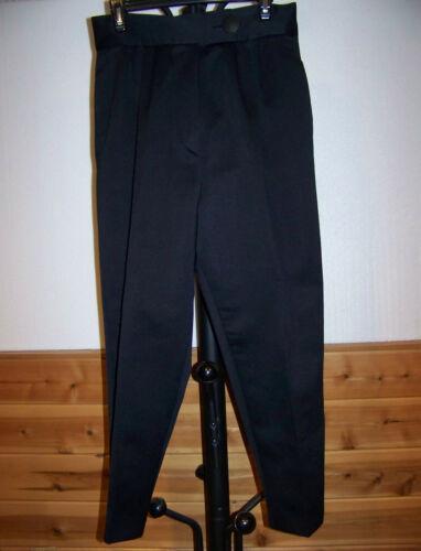 WOMENS VINTAGE (90's) BLACK DRESS PANTS by ANNA G
