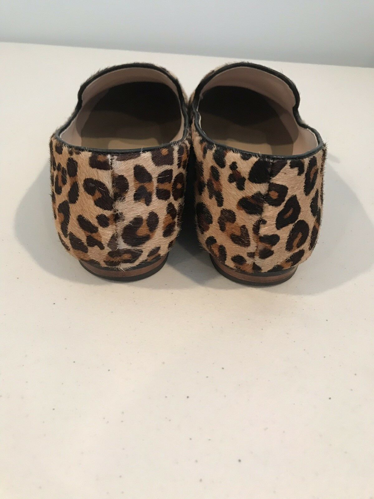 Steven By Steve Madden Loafer Fur Leopard Loafer Madden Flat Slipper Schuhe a835b9