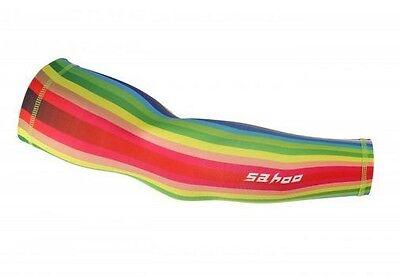 SAHOO Oversleeves 1 Pair Cycling Bike Arm Sleeve Cover Warmers UV Sun Protection