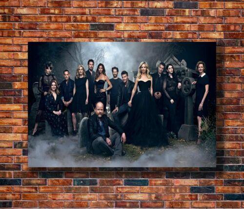 H246 Silk Poster Buffy the Vampire Slayer Reunion 2017 TV Series Play Art Print