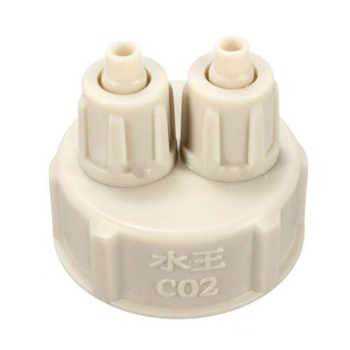 DIY Aquarium Bottle Cap for Live Plants CO2 Diffuser Air Generator SystemTool