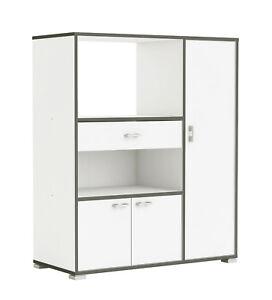 k chenschrank 955 schrank k chenregal k chenm bel mikrowelle singlek che k che ebay. Black Bedroom Furniture Sets. Home Design Ideas
