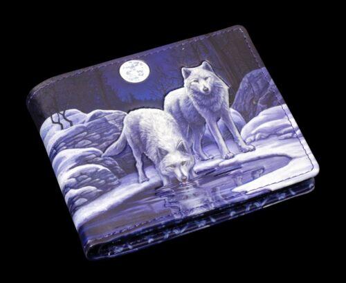 Messieurs Porte-monnaie avec Loups-Warriors of Hiver-marqué-Lisa Parker Sac