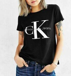 Details zu Calvin Klein CK Women's Logo T shirt