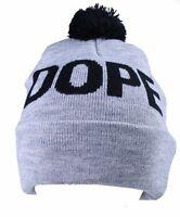 Dope Couture Grey Overt Beanie