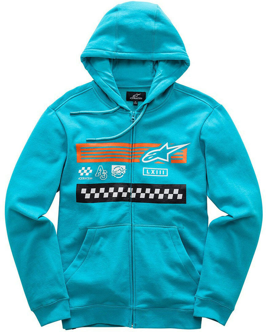 Alpinestars Champion Fleece Hoody (M) Turquoise