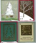 Handmade CHRISTMAS GIFT CARD/MONEY HOLDERS #C$-8--Lot of 4