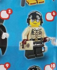 Lego 8684 Series 2 #6 TRAFFIC COP state trooper figure Minifigure New Sealed