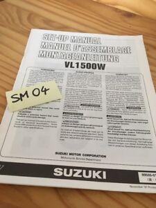 Suzuki-VL1500W-vl1500-w-VL-1500-Instruction-Vorbereitung-der-Installation