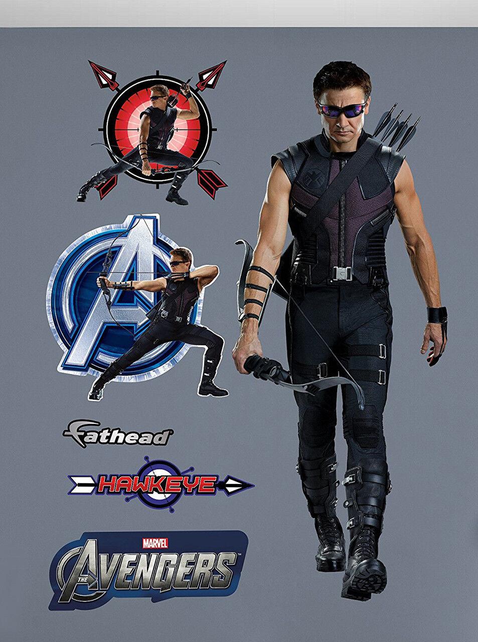 Fathead Vengadores Hawkeye Marvel Comics real de acción en vivo Gran Decoración de parojo 96-96068