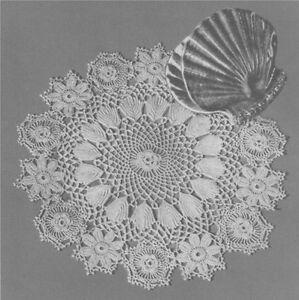 Doily / Placemat Irish Crochet Pattern : Irish Lace ...
