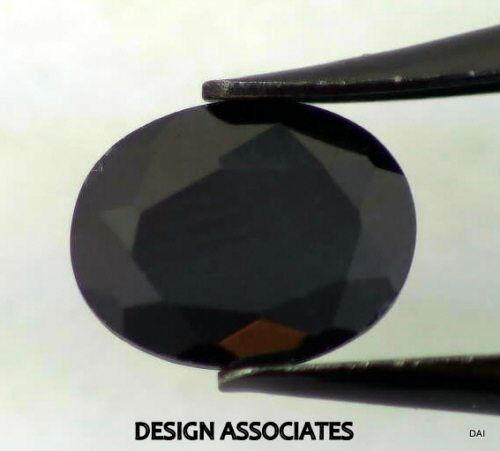 BLACK SAPPHIRE 14x12 MM OVAL CUT ALL NATURAL CALIBRATED AND FACETED AAA