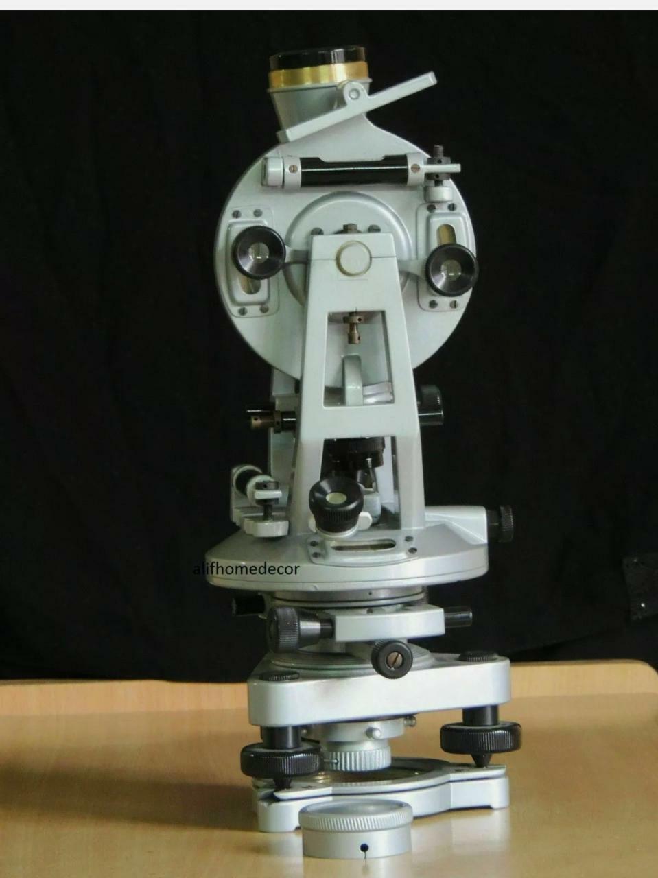 Transit Alidade Surveying Instrument 20 Seconds Brass Theodolite 100% working