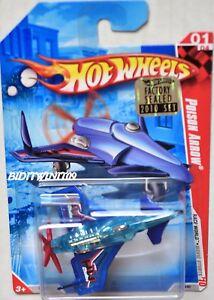 Mutig Hot Wheels 2010 Rennfahren Welt Gift Pfeile Blau Werkseitig Versiegelt Auto- & Verkehrsmodelle Modellbau