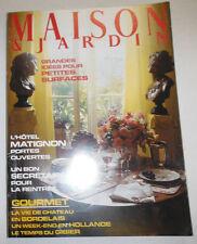 Maison & Jardin French Magazine Matigon & Surfaces No.327 October 1986 101414R1