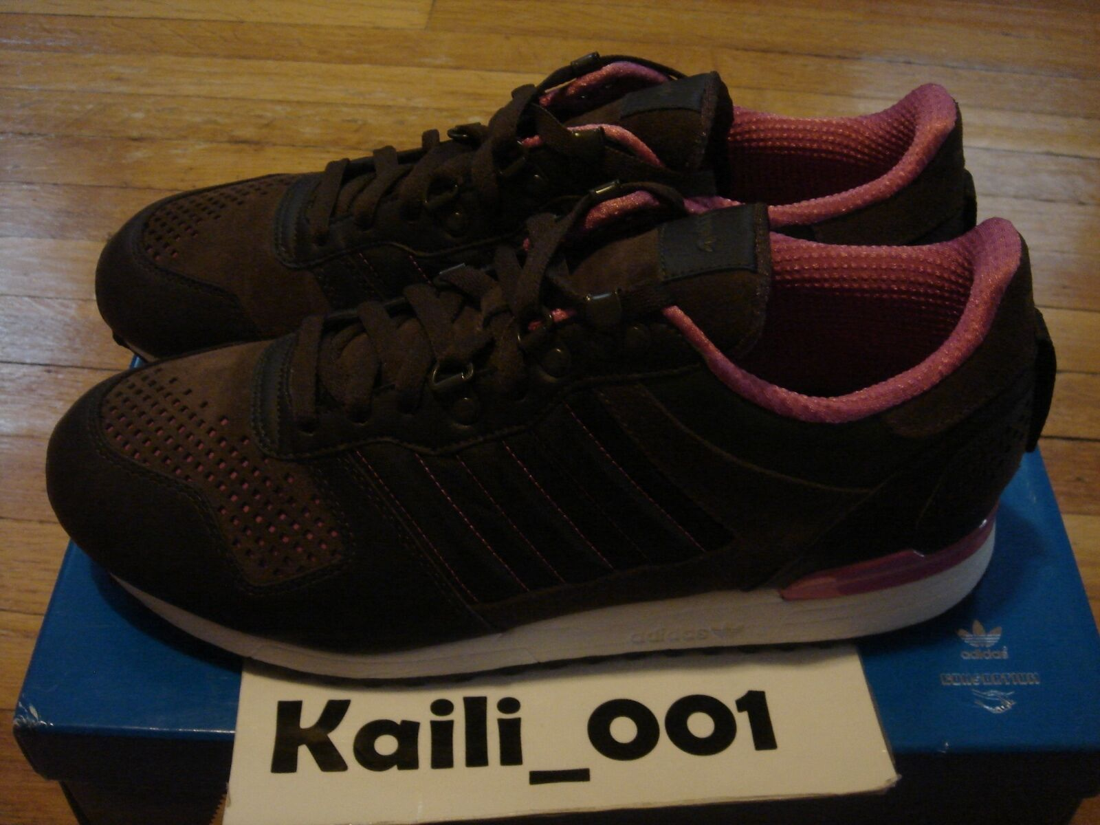 Adidas ZX 700 O Store Size 13 USED WORN 474773 DRKBRO/DRKBRO/RBIA CONSORTIUM B