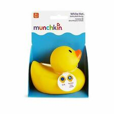 Munchkin White Hot Bath Ducky Temperature Indicator Thermometers Baby Bath BNIP