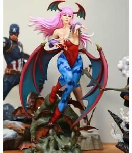 Morrigan-Aensland-1-4-Statue-Succubus-Resin-Recast-Painted-Model-Figure-In-Stock