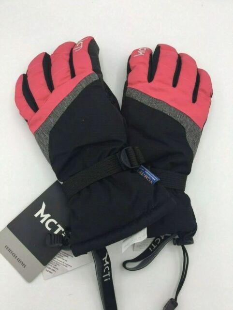 Cevapro 40℉ Winter Gloves Waterproof Ski Gloves 3M Thinsulate Snowboarding Gloves