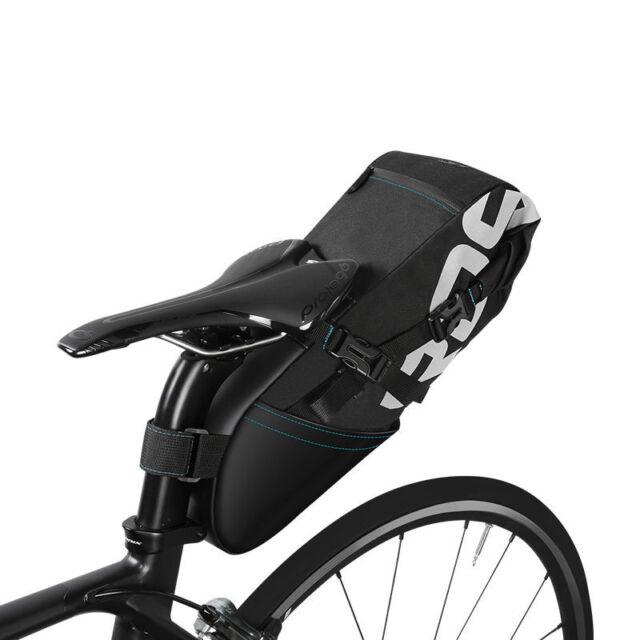 ROSWHEE Bike Rear Seat Saddle Bag 8L Bicycle Cycling Water Resistant Pannier Bag