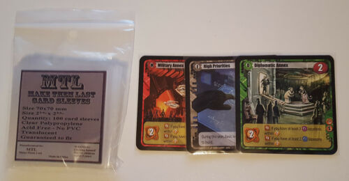 Power grid... MTL Card Sleeves S70 Size 70x70 100 PCS Viceroy Among the Stars