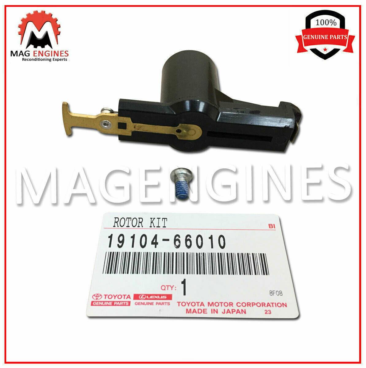 1910466010 Genuine Toyota ROTOR KIT 19104-66010