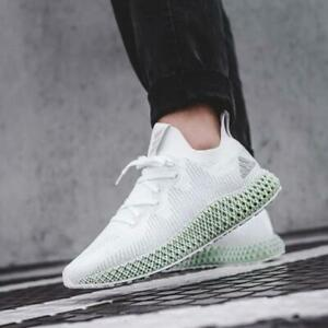 Adidas-4D-Edge-White-Race-Runner-Sock-9-Sneakers-43-5-Trainers-Boost-Futurecraft