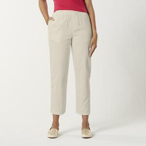 Basic Editions Para Mujer Twill Pantalones Paloma Xl Eg Corto Ebay