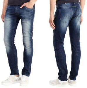 Wrangler-Herren-Jeans-Hose-Bryson-Distantrelation-Blau-W32-W36