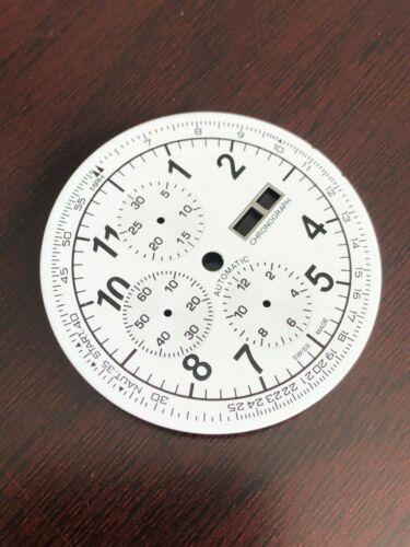 Neu DAY//DATE XXL Chronograph Zifferblatt für ETA Valjoux 7750