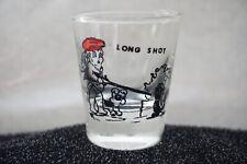 Vintage Shot Glass Funny Measurements Chickens Ladies Men He-Men Hogs Jackasses