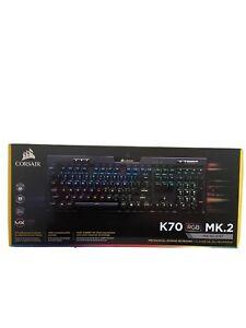 Corsair K70 RGB MK.2 Clavier Mécanique Gaming (Cherry MX Silent) - Neuf - QWERTY