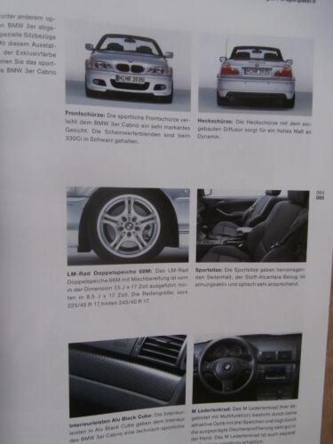 Individual Katalog BMW 318Ci 320Ci 325Ci 330Ci E46 Cabriolet 3//2002 M Paket