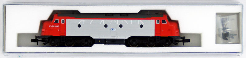 Kato K2880 NOHAB Diesel Locomotive BOB V170 No.1142 (N scale)