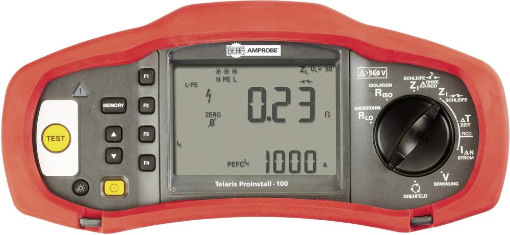 Beha Amprobe Telaris ProInstall-100-D Multifunktions-InsGrößetionsmessgerät, Ins