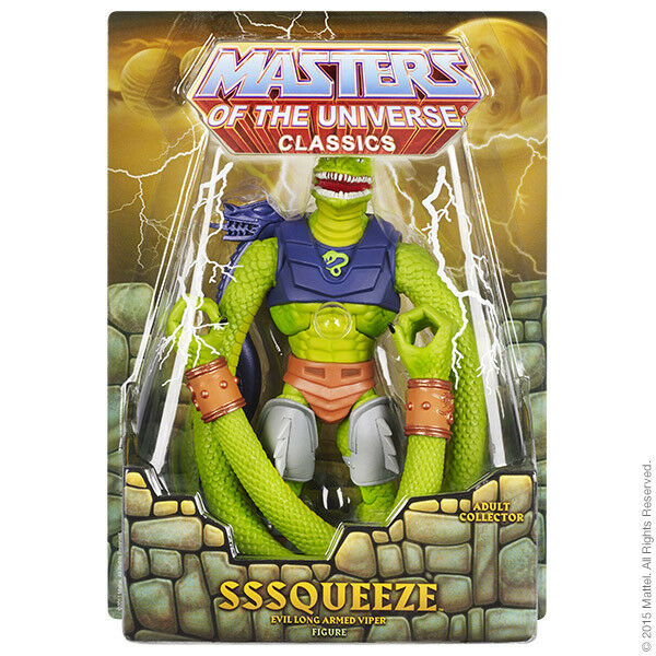 Masters of the Universe Club Eternia Exclusive Sssqueeze 6  Action Figure MOTU