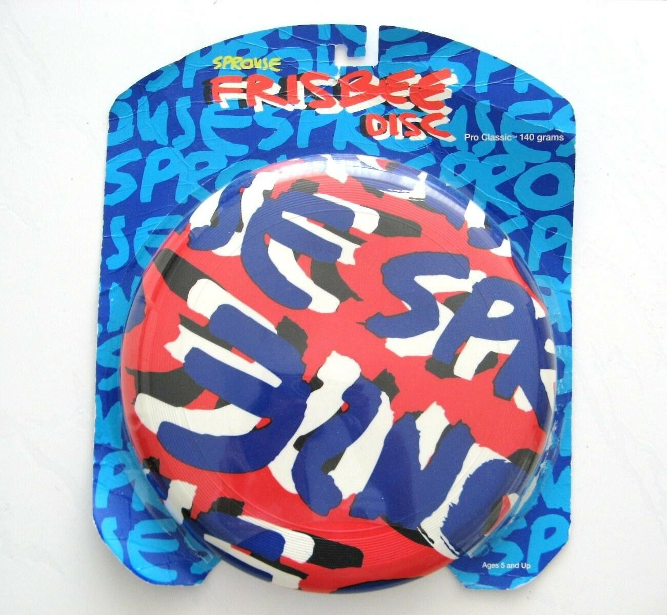 STEPHEN SPROUSE FRISBEE DISC PRO CLASSIC 140 GRAMS 2002 TARGET COLLECTION 5+