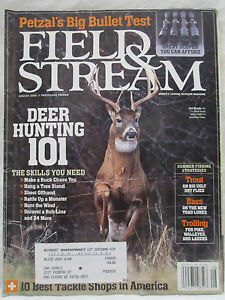 Details about Field & Stream Magazine August 2005 Petzal's Big Bullet  Test~Deer Hunting 101