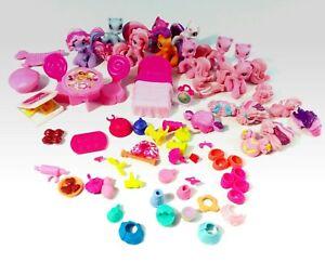 Hasbro-2008-My-Little-Pony-Mini-Ponies-Unicorn-amp-Accessories-Lot-MLP-Ponyville